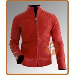 Superman Smallville Red Leather Jacket | Leather Jacket Mens