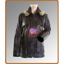 Swedish Bomber Hooded Peacoat Jacket | Mens Bomber Jacket Sale