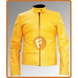 Teenage Mutant Ninja Turtles Megan Fox Yellow Jacket | Women Yellow Leather Jacket
