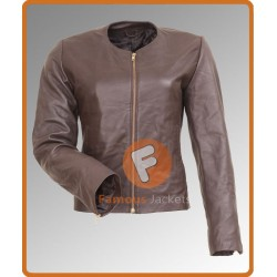 This Means War Reese Witherspoon Jacket | Brown Leather Jacket