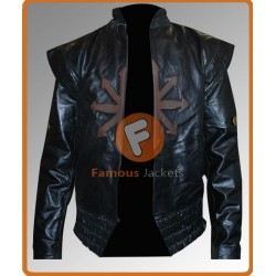 Three Musketeers D'Artagnan Leather Jacket | Mens Black Leather Jacket