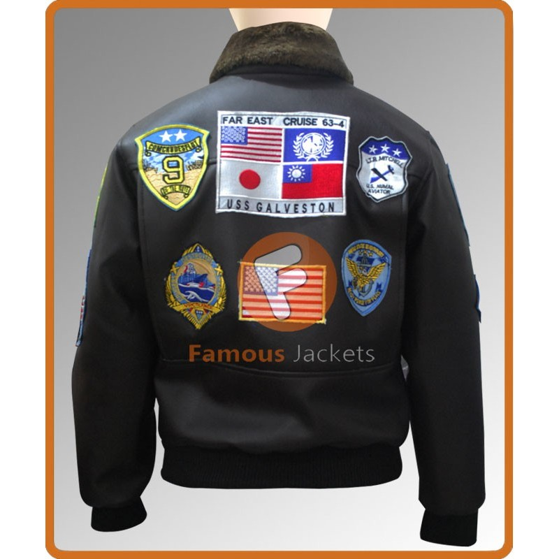 3a941fc9639 Buy Tom Cruise Top Gun Maverick Bomber Flight Jacket with Patches