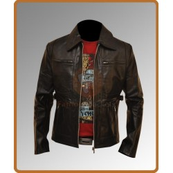 Troy: Four Pockets Classic Jacket | Leather Jacket For Men's