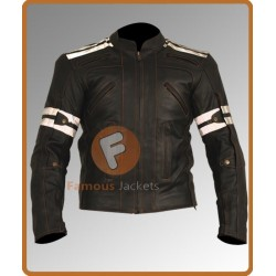 Vulcan VTZ-910 Vintage Street Motorcycle Leather Jacket | Men's Biker Leather Jacket