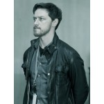 Welcome To The Punch James McAvoy Jacket | Black Leather Jacket Mens