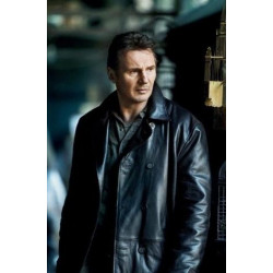 Taken Liam Neeson Black Jacket | Leather Jacket For Men's